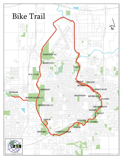 31 creative Sioux Falls Bike Trail Map bnhspinecom