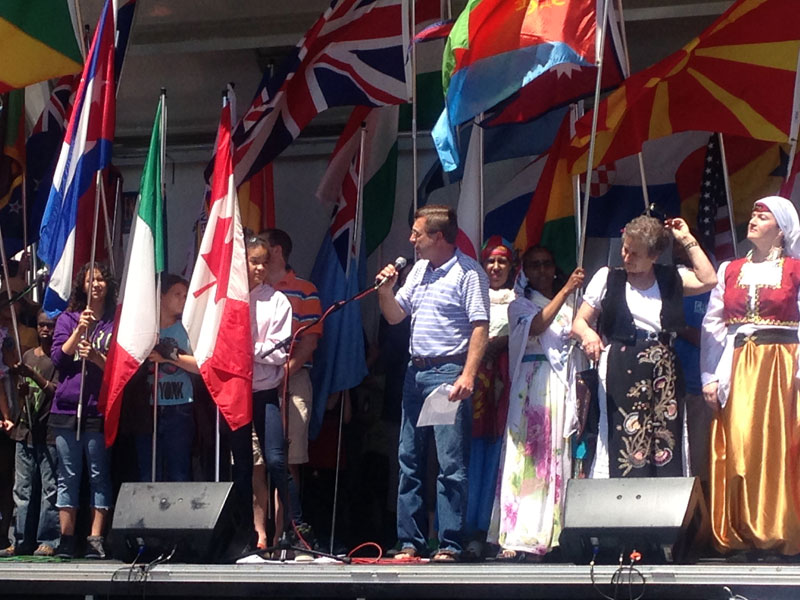 Proclamation at the Festival of Cultures