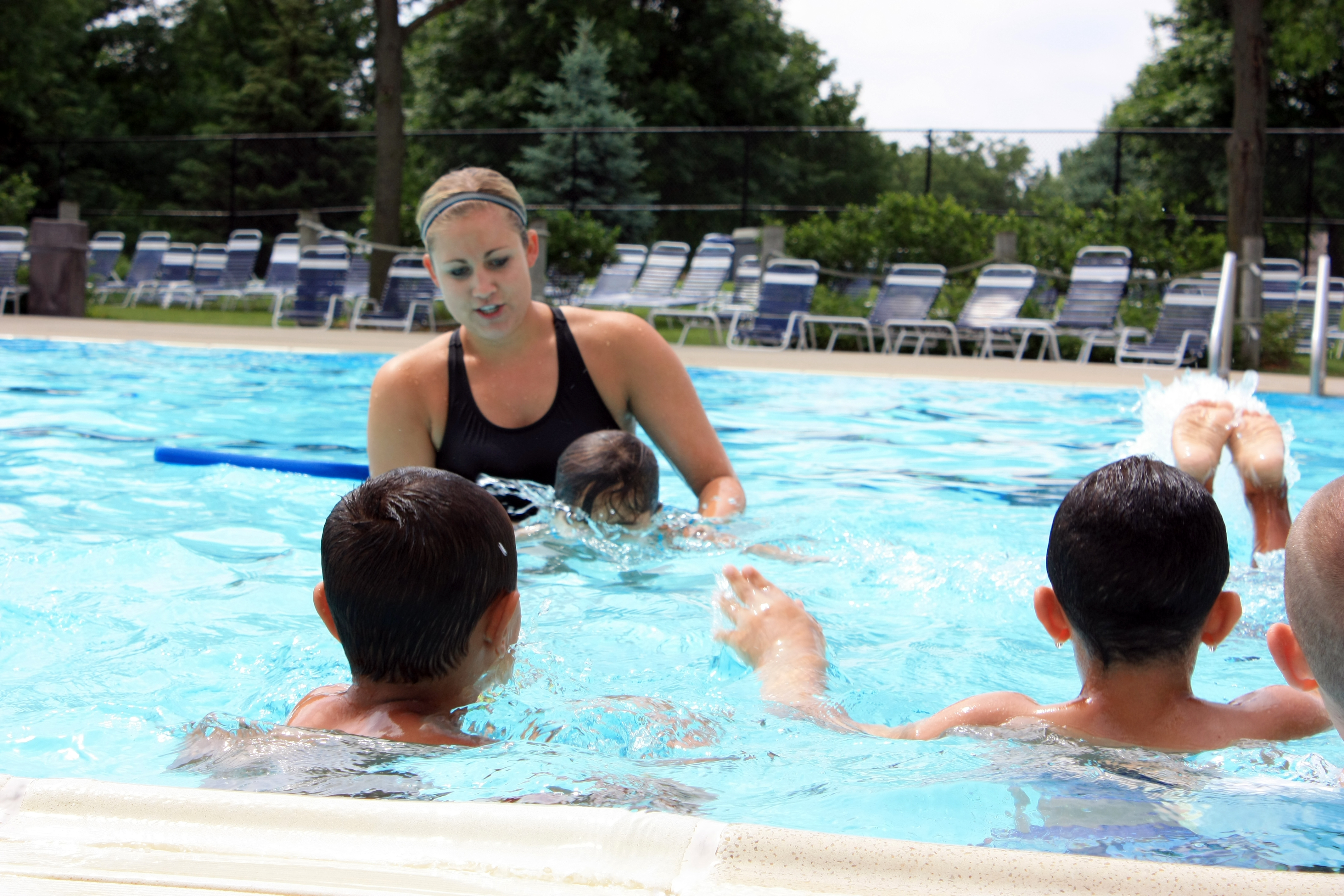 American red cross learn to swim guidelines