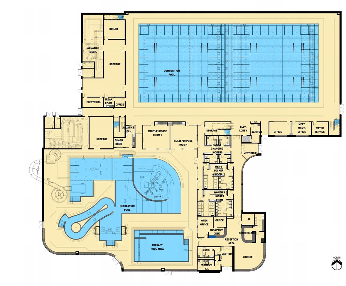 Midco aquatic center city of sioux falls for Sioux falls home builders floor plans